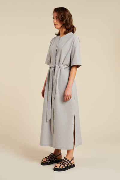 Alelo Dress Blue Stripe