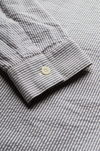Antipodes Shirt Blue Stripe
