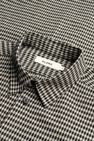 Rays Shirt Black & Cream Check