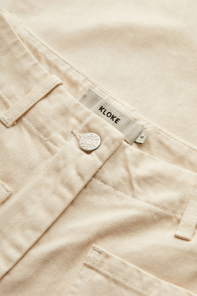 Interval Front Pocket Jean Ecru