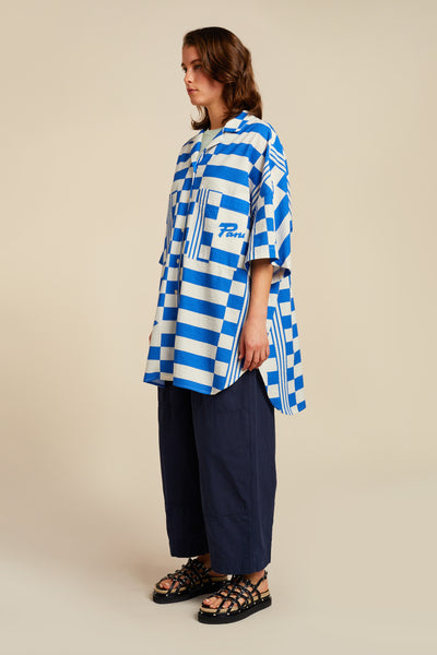 Panacea Oversized Shirt Blue