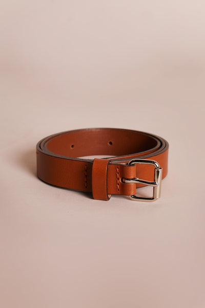 Capacity Women's Belt Walnut