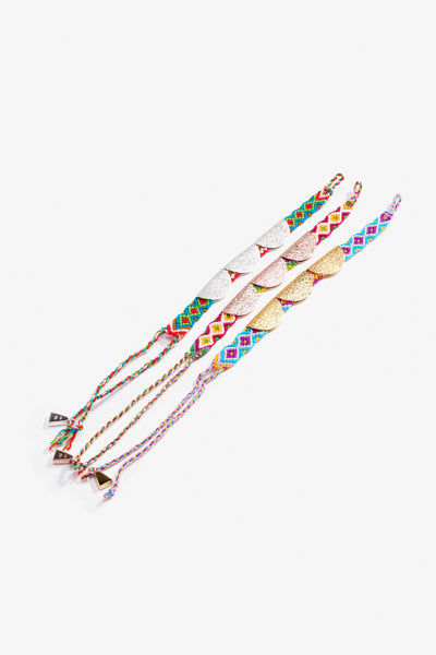 Trippy Taco Friendship Band Yellow Gold