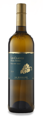 Les Claives Petite Arvine Fully AOC