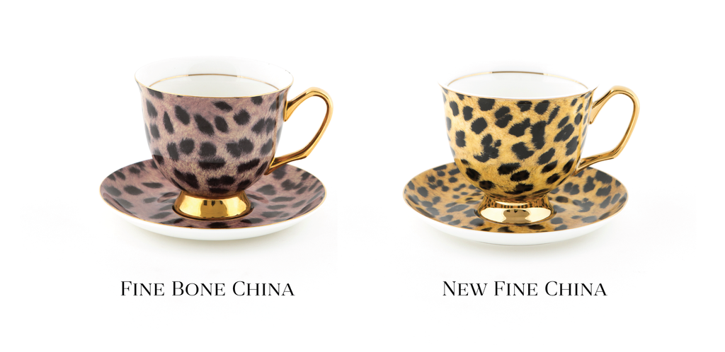 Fine Bone China vs New Fine China