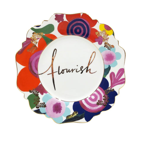 Flourish Side Plate