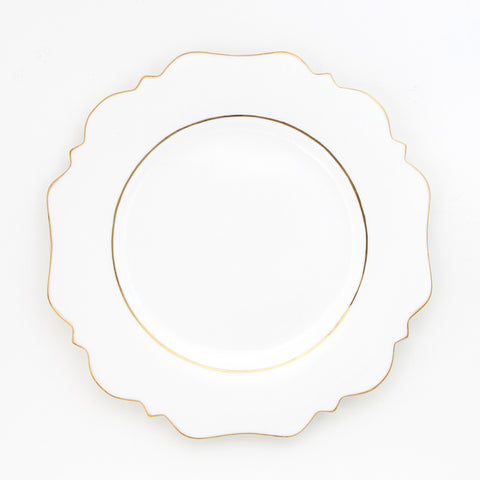 White Side Plate