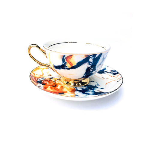 'Arterie' Teacup & Saucer - 250mL