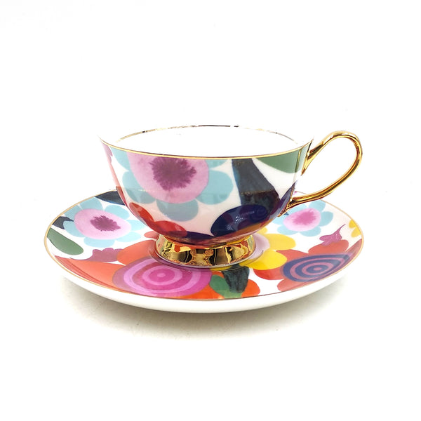 Flourish Teacup & Saucer - 250mL