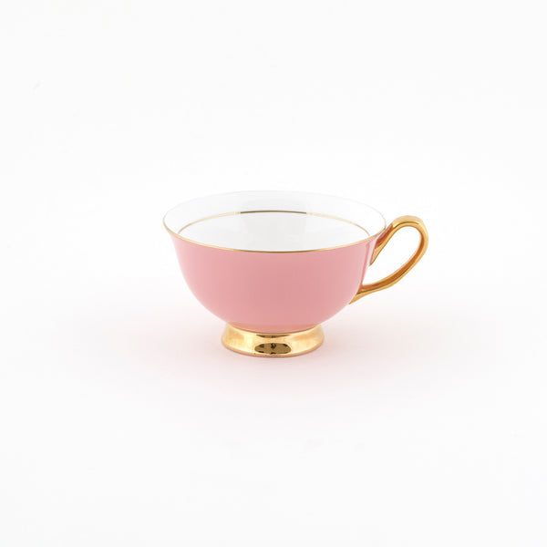 Pale Pink Teacup & Saucer - 250mL