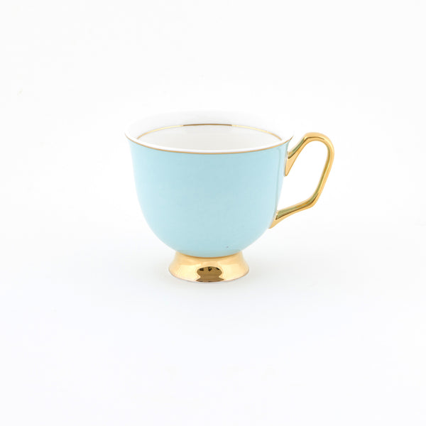 Pale Blue Teacup & Saucer XL - 375mL