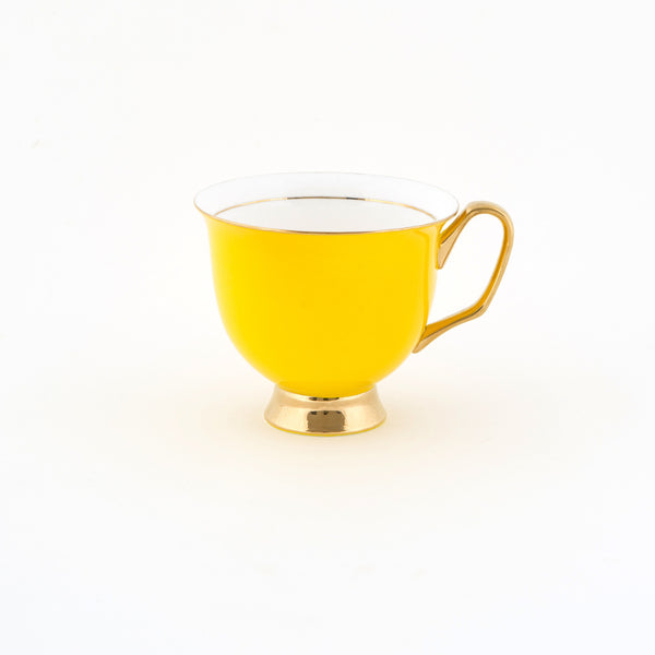 Yellow Teacup & Saucer XL - 375mL