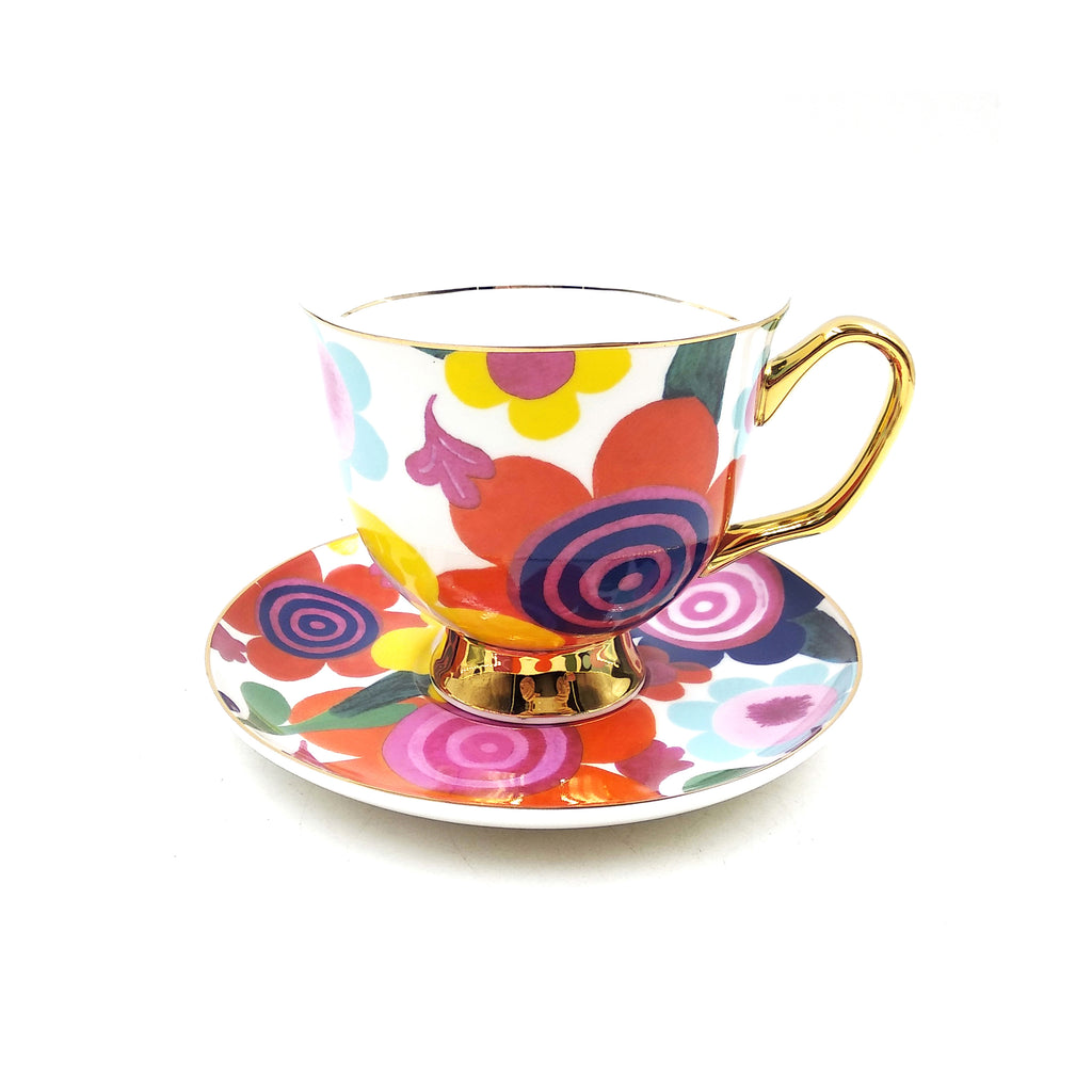 Flourish Teacup & Saucer XL - 375mL