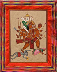 Paintings I Tantra Collection I Panchmukhi Hanuman Pataka