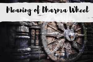 Meaning of Dharma Wheel