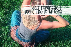 Self Expression Through Boho Tattoos