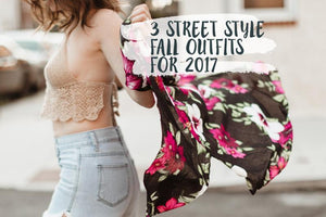 3 Street Style Fall Outfits for 2017