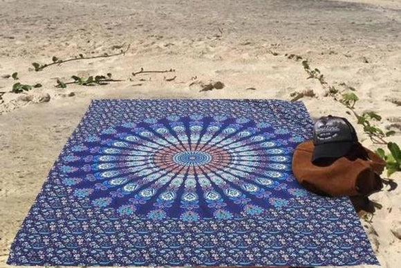 Hippie Mandala Tapestries