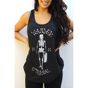 After Party Tank (Black) Women - Apparel - Shirts - Sleeveless
