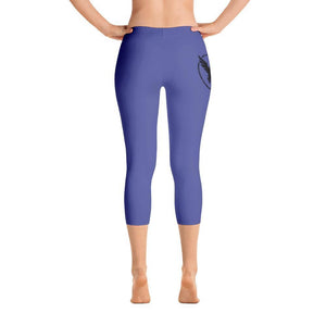 All Day Comfort Capri Leggings Pacific Supply II Medium Blue XS / Blue Women - Apparel - Activewear - Leggings