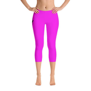 All Day Comfort Capri Leggings Pacific Supply II Pink Women - Apparel - Activewear - Leggings