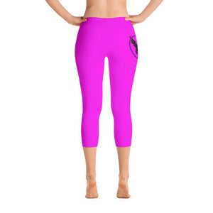 All Day Comfort Capri Leggings Pacific Supply II Pink XS / Pink Women - Apparel - Activewear - Leggings