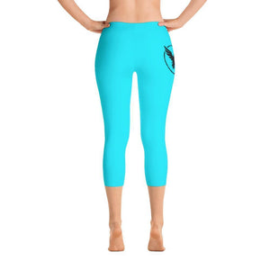 All Day Comfort Capri Leggings Pacific Supply II Sky XS / Blue Women - Apparel - Activewear - Leggings