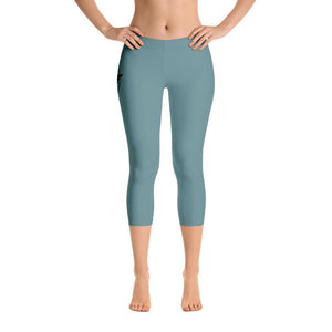 All Day Comfort Capri Leggings Pacific Supply II Slate Women - Apparel - Activewear - Leggings