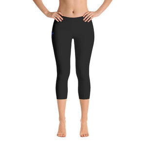 All Day Comfort Capri Leggings Pacific Supply II Stripe Women - Apparel - Activewear - Leggings