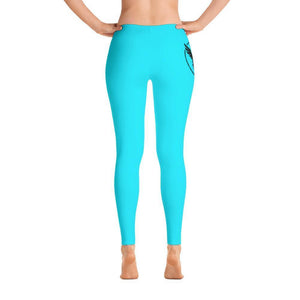 All Day Comfort Full Length Leggings Pacific Supply II XS / Blue Women - Apparel - Activewear - Leggings