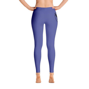 All Day Comfort Full Length Leggings Pacific Supply II XS / Purple Women - Apparel - Activewear - Leggings