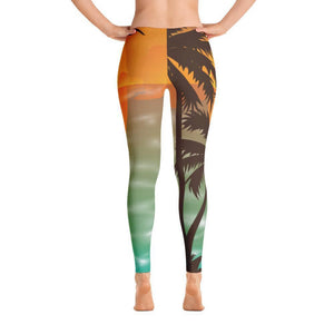 All Day Comfort Sunset Leggings XS / Multicolor Women - Apparel - Activewear - Leggings