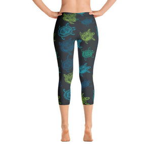 All Day Comfort Turtle Capri Leggings XS Women - Apparel - Activewear - Leggings