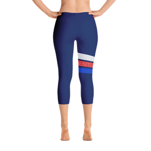 All Day Comfort Venture Pro Capri Leggings XS / Blue Women - Apparel - Activewear - Leggings
