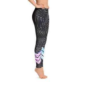 All Day Comfort Venture Pro Carbon Leaf Leggings Women - Apparel - Activewear - Leggings