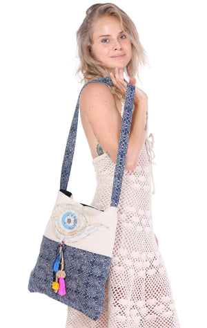 Batik Eye Crossbody Bag Bags
