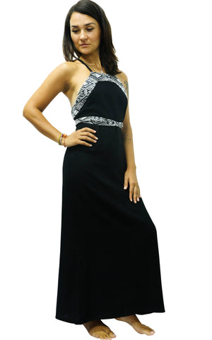 Black Diamond Maxi Dress S / Black Women - Apparel - Dresses - Maxi