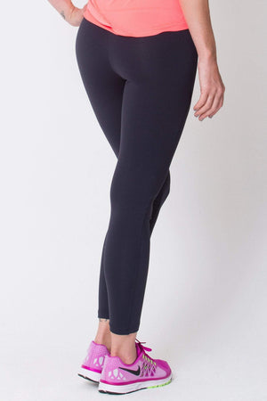Black Riding Seam Legging Women - Apparel - Activewear - Leggings