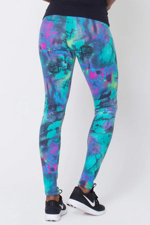 Blue Animal Print Women - Apparel - Activewear - Leggings