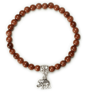 Brown Elephant Bracelet - Honesty & Stability Women - Jewelry - Bracelets