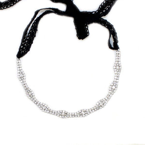 CLASSIC CRYSTAL HEADBAND Women - Accessories - Hair Accessories