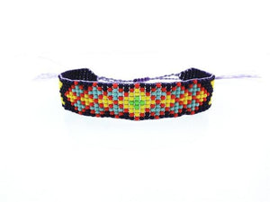 Colorful Beads Eye Bracelet 11 / Multicolor Wrap Bracelets