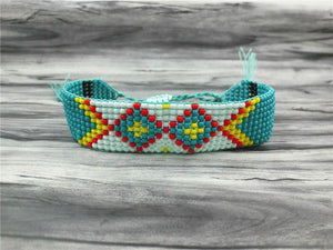 Colorful Seed Beads Friendship Bracelet Strand Bracelets