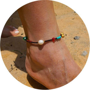 Colorful Tribal Beach Anklets/Bracelets 06 Anklets