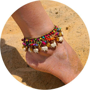 Colorful Tribal Beach Anklets/Bracelets 20 Anklets