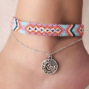 Colorful Tribal Beach Anklets/Bracelets 26 Anklets
