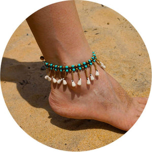 Colorful Tribal Beach Anklets/Bracelets Anklets