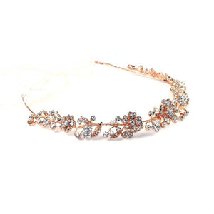 Crystal Vines Headpiece Rose gold Women - Accessories - Hair Accessories
