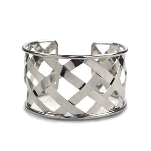 Cuffed Bracelet Silver Women - Jewelry - Cuffs
