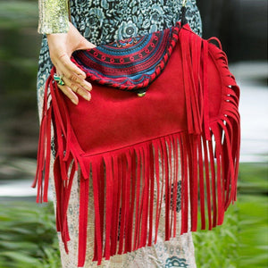 """Dakota Fringe"" Dawn Dream Bags"